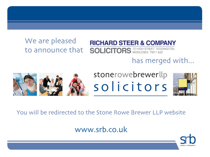 Richard Steer & Company has merged with Stone Rowe Brewer